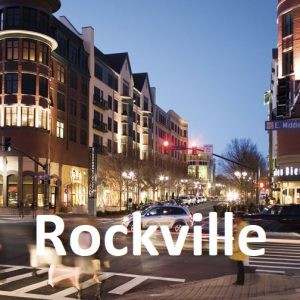 Rockville Town Square in Rockville, Maryland.